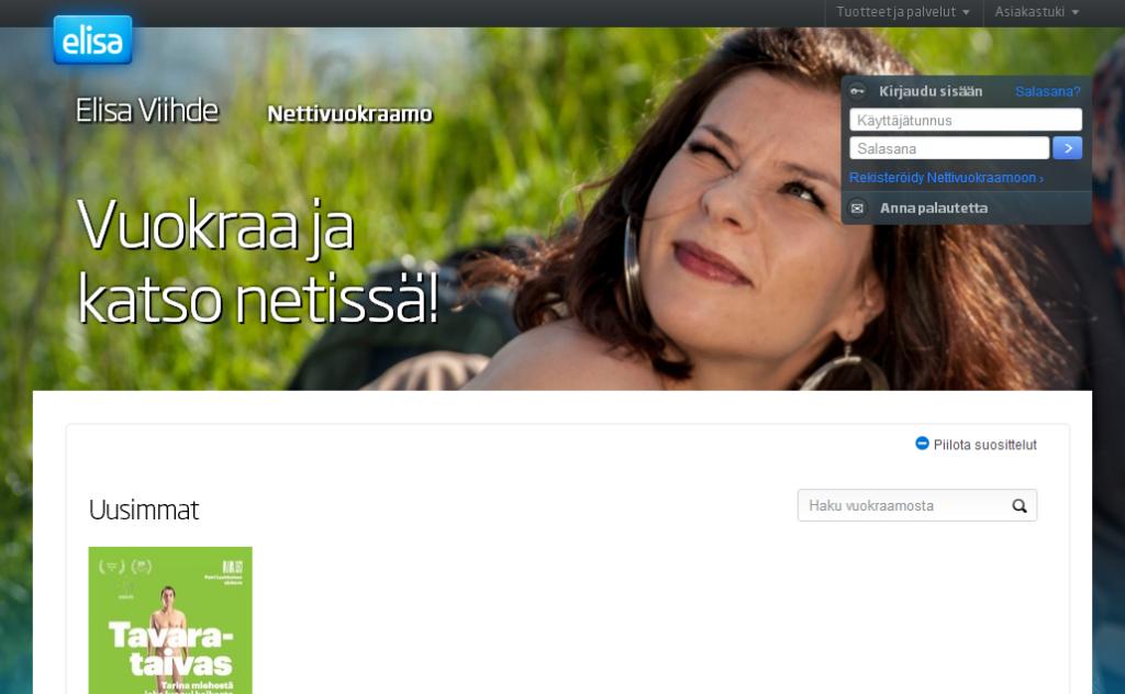 Elisa Nettivuokraamo