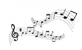 silhouette-musical-note-clef-b