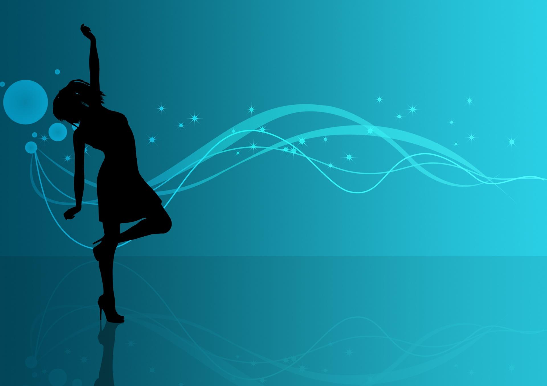 trendy-female-silhouette-background